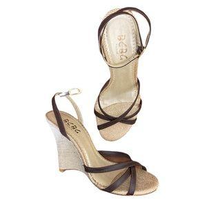 BCBG Paris Wedge Sandals